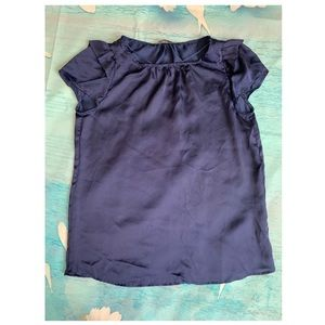 Zara blue blouse perfect condition size S